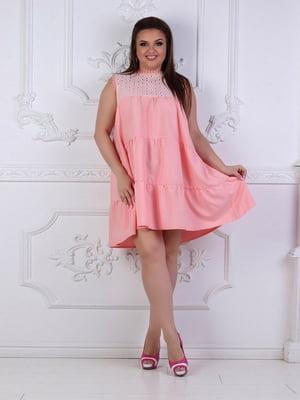 Сукня кольору пудри | 5387722