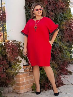 Сукня червона | 5387734