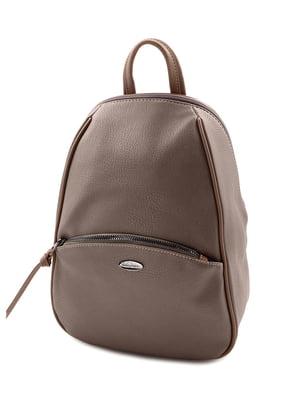 Рюкзак темно-рожевий | 5205355