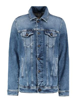 Куртка синяя джинсовая | 5387927