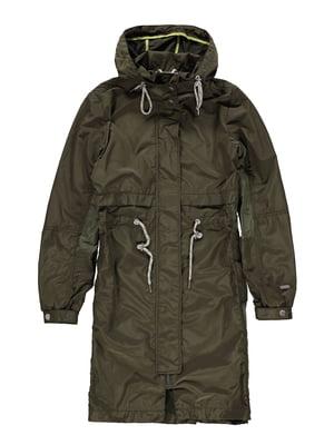 Куртка оливкового цвета   5387928