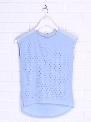 Блуза блакитна | 5387984