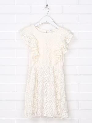 Платье молочного цвета   5388012