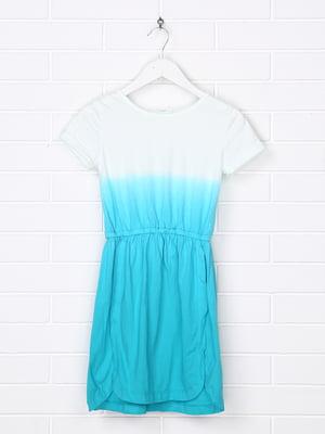 Платье голубое   5388016