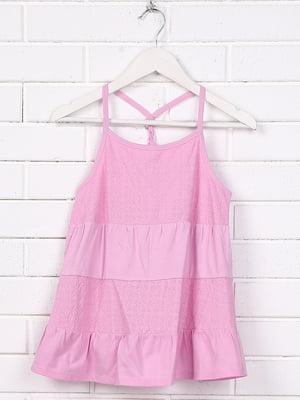 Топ розово-лилового цвета | 5388029