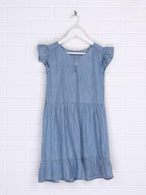 Платье голубое   5388085