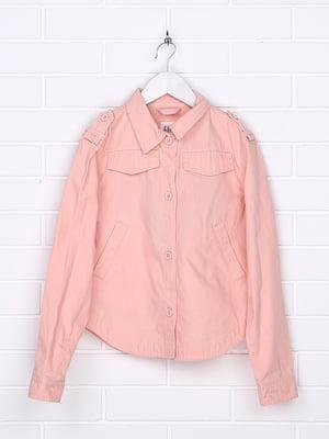 Жакет персикового цвета | 5388098
