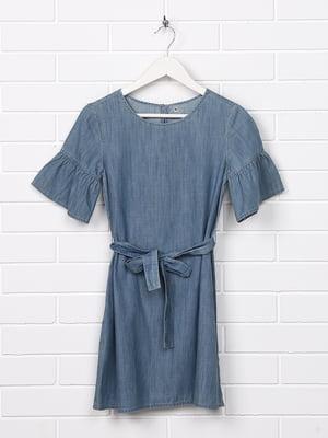 Платье голубое   5388135