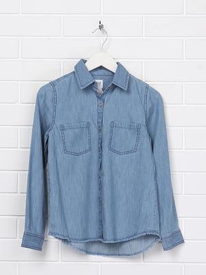 Рубашка голубая | 5388138