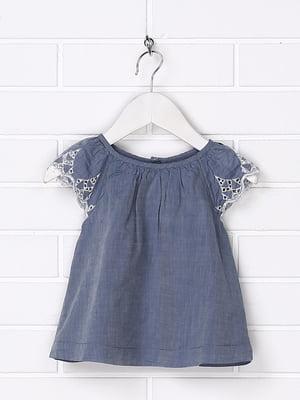 Платье синее   5388188