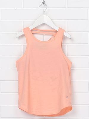 Майка персикового цвета | 5388209