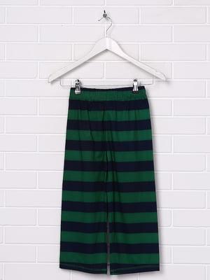 Штани зелені в смужку | 5388211