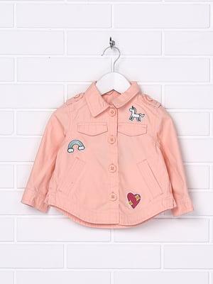 Жакет персикового кольору | 5388340