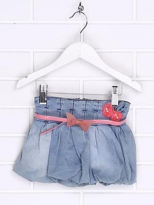 Юбка синяя джинсовая | 5388353