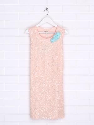 Платье цвета пудры | 5388379