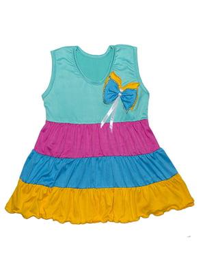 Сукня різнокольорова | 5388426