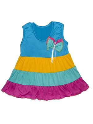 Платье разноцветное   5388428