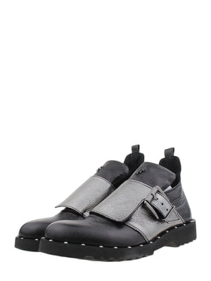 Ботинки черно-никелевого цвета | 5388599