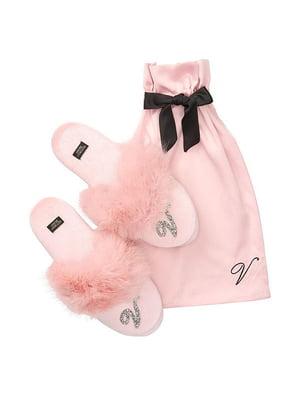 Тапочки рожеві   5388694