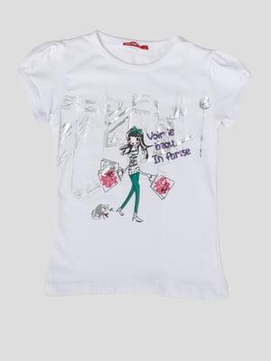 Блуза з принтом   5387563