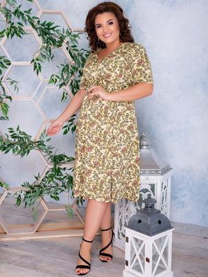 Сукня з принтом | 5389489
