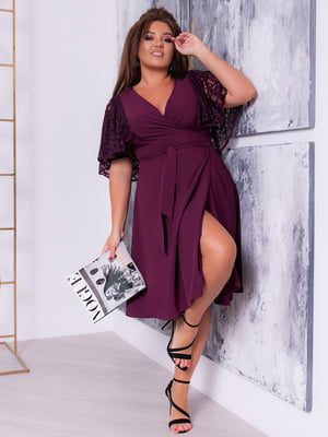 Сукня кольору марсали | 5389542