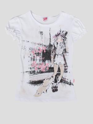 Блуза з принтом | 5387555
