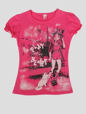 Блуза з принтом | 5387556