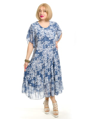 Платье в принт | 5390059