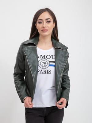 Куртка темно-зелена | 5393492