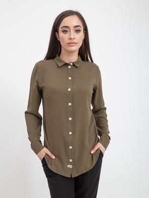 Рубашка цвета хаки | 5393529