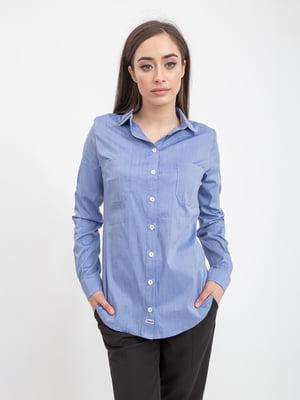 Рубашка синяя | 5393541