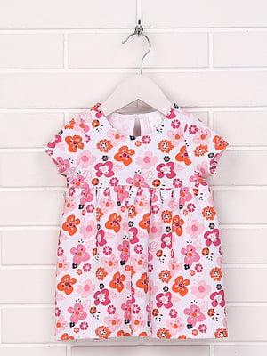 Платье с принтом | 5394354
