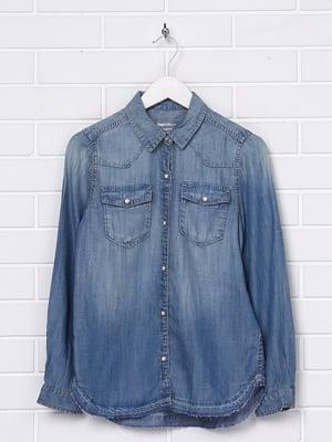 Рубашка голубая | 5394432