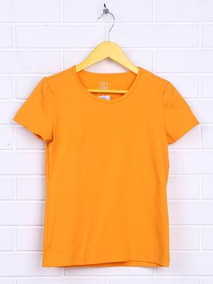 Футболка оранжевая   5394435