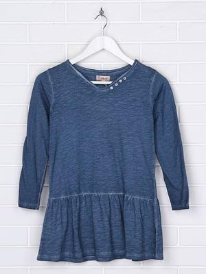Платье синее   5394447