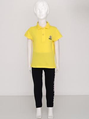 Футболка-поло жовта | 5394452