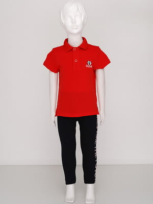 Футболка-поло червона | 5394454