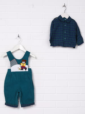 Комплект: сорочка і комбінезон | 5394504