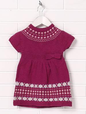Платье фиолетовое с орнаментом | 5394511