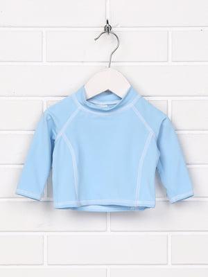 Лонгслів блакитний | 5394568