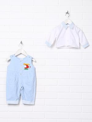 Комплект: сорочка і комбінезон | 5394689