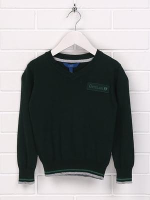 Джемпер зеленый | 5394737