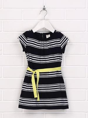 Платье черное в полоску | 5394784