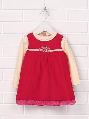 Комплект: сукня і лонгслів | 5394785