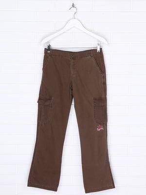 Штани коричневі | 5394794