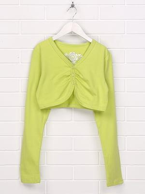 Болеро лимонно-зеленого цвета | 5394814
