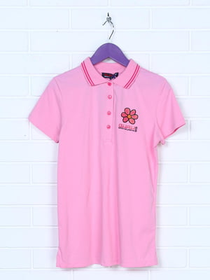 Футболка-поло рожева | 5394819