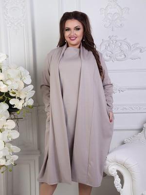 Комплект: сукня та накидка | 5394945