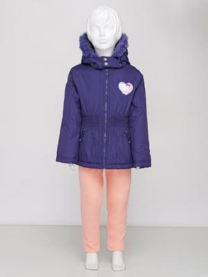 Куртка фиолетовая | 5395009